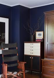 Enchanting Dark Blue Paint Walls Photo Decoration Inspiration ...