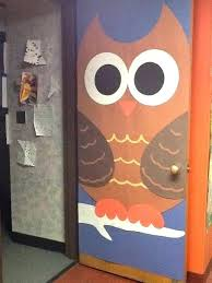 classroom door decorations for fall. Perfect For Fall Door Decorations Decoration Owl Classroom Ideas Decorating  For Kindergarten And Classroom Door Decorations For Fall E