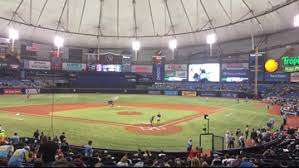 Tropicana Field Seating Chart View Rays Finish With Second Lowest Home Attendance For 2018