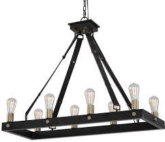 8 light rectangular chandelier 21279 5 photos