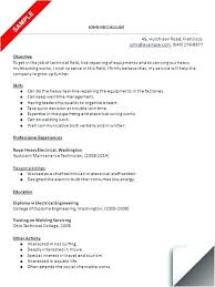 maintenance duties resume maintenance tech resume maintenance technician resume sample