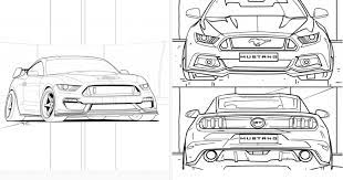 Boys like to color images of cars. Coloring Pages For Car Enthusiasts And Kids