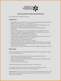 Resume Sample Resume For Kitchen Staff 23 Unique Sample Resume