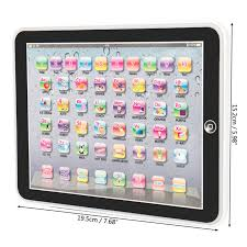 baby tablet educational toys s toy for 1 2 year old toddler learning english 3 3 of 10