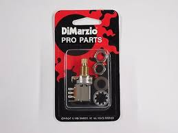 dimarzio ep1200pp 250k split shaft push pull pot audio taper dimarzio 500k push pull potentiometer pot w brass threaded bushing ep1201pp