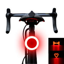 Details About Bicycle Led Tail Light Safety Warning Light Laser Night Mountain Bike Rear Light