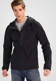 the north face men s black jackets jacket w1t8 by hardshell classics