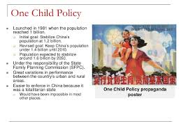 case study s one child policy one child policy