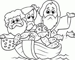 Small Picture story coloring pages for kids