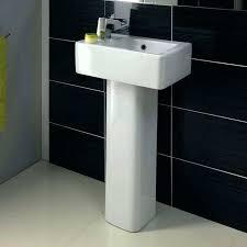 small pedestal sink. Fine Pedestal Small Pedestal Sink Narrow Bathroom Sinks In Decor 8 Cabinet Inside D