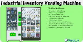 Inventory Vending Machine Interesting VISOLUX M SDN BHD 48W VENDING SOLUTION