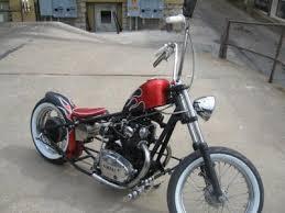 killer old school bobber xs650
