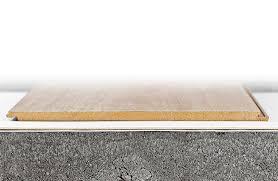 designed for floating installation under laminate parquet cork vinyl and designer flooring
