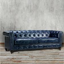 Navy Blue Leather Furniture Polish Sectional Sofa Manufacturers