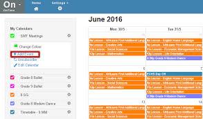 Calendars To Edit Staffroom Help