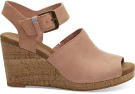 Gentle Souls Size Chart Coral Pink Suede Womens Tropez Wedges In 2019 Womens