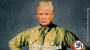 Image result for trump hitler cartoons