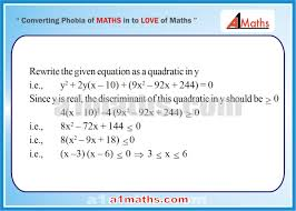 solved problems 10 1 algebra 1 quadratic equation iit