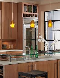 Pendant Kitchen Lights Kitchen Brass And Glass Mini Pendant Lights Unique Collection