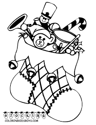 Christmas Coloring Pages Toddlers At Seimado