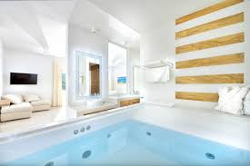 Champagne Bathroom Suite Nissaki Hotel Mykonos Boutique Hotel Near Platys Gialos Beach