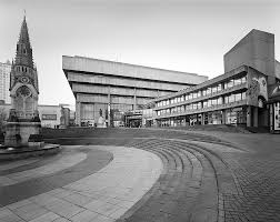 old architectural photography. Old Birmingham Central Library, By John Madin Architectural Photography