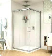 32 shower doors shuttle square semi corner entry shuttle square semi corner entry sliding doors shower