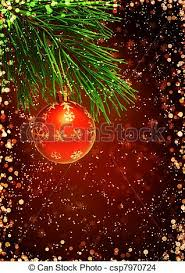 Christmas Background Vertical Background With Christmas Ornament