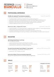 Resume Resume Headers That Stand Out