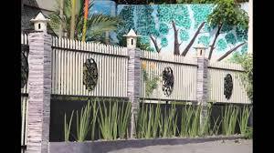 Modern Fence Design for Box Type Houses