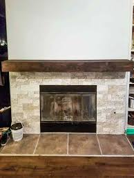 learn how to make your own rustic fireplace mantel easy wood building a diy cover