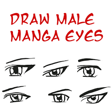 how to draw male anime eyes.  Draw Draw Anime Eyes Male How To Manga Boys U0026 Men Drawing Tutorials   Step By To Male