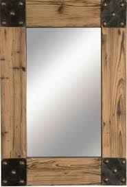 Wood wall mirrors Pallet Cabin Western Lodge Style Wood Wall Mirror With Studded Metal Corners For The Cabin Pinterest Rustic Mirrors Mirror And Rustic Pinterest Cabin Western Lodge Style Wood Wall Mirror With Studded Metal