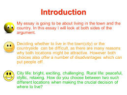 city life essay differences between city country life synonym