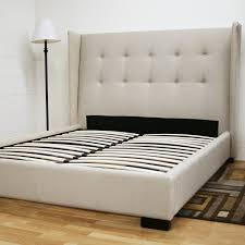 bedroom bed frames queen  upholstered bed frame  platform bed