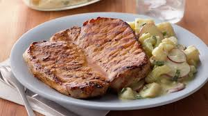 grilled honey mustard pork chops recipe