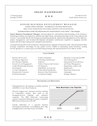 Cover Letter Business Management Resume Template Business