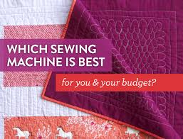 Quilting Sewing Machines: Which One Is Best For You & Your Budget ... & Quilting Sewing Machines: Which One Is Best For You & Your Budget? - Suzy  Quilts Adamdwight.com