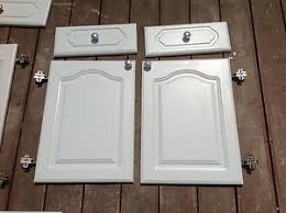 cabinet doors and drawer frontsWhite Howdens Cathedral Style Kitchen Cabinet Doors Drawer Fronts