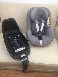 maxi cosi 2 way familyfix isofix base with 2 way pearl car seat excellent condition