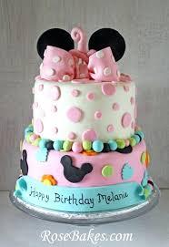 Wedding Cake Decorations Uk Chart Minnie Mouse Birthday Cake