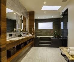 modern bathroom decorating ideas. Bathroom:Opulent Modern Spa Bathroom Decorating With Drop In Bathtub Elegant Ideas