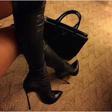 boots knee high boots