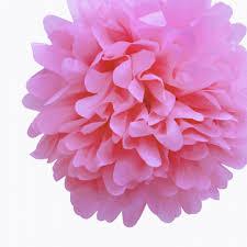 Tissue Paper Pom Poms Flower Balls Pink Tissue Paper Pom Poms Flowers Balls Decorations