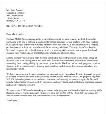 Sample Of Proposal Letters Sample Proposal Letters Rome Fontanacountryinn Com