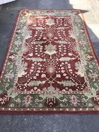 beautiful pottery barn oriental style franklin rug 5 x 8 retails 499