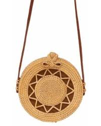 Fashion <b>Women</b> Handmade Round Rattan Bags <b>Woven Straw</b> Bag ...