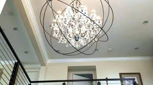 orb chandelier with crystals nickel orb chandelier crystal orb chandelier innovative lighting polished nickel orb chandelier