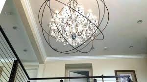 orb chandelier