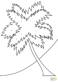 Small Picture Coloring Pages Of Palm Leaves Coloring Pages